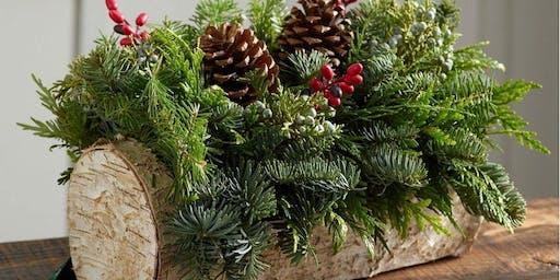 Holiday Yule Log Workshop