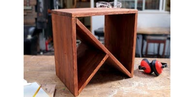 Woodworking: Wedge Table (2019-12-17 starts at 6:00 PM)