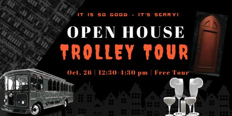 Open House Trolley Tour - Halloween Edition tickets