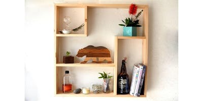 Woodworking: The Deco Shelf (2019-12-09 starts at 6:00 PM)
