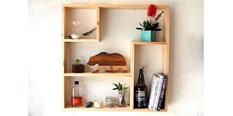 Woodworking: The Deco Shelf (09-15-2020 starts at 6:00 PM) tickets