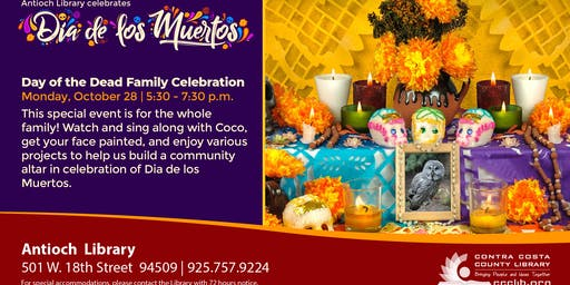 Day of the Dead Family Celebration