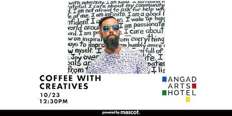Coffee With Creatives | RENDA WRITER: Handwritten Mural Artist, Poet & Actor tickets