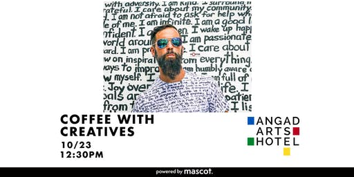 Coffee With Creatives | RENDA WRITER: Handwritten Mural Artist, Poet & Actor