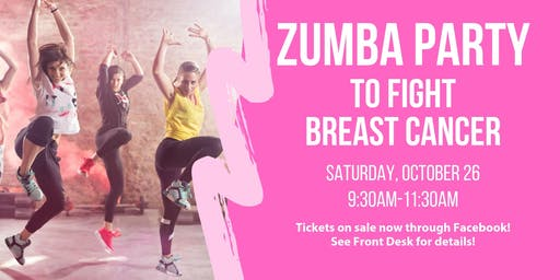 Chelmsford Zumba Party To Fight Breast Cancer!
