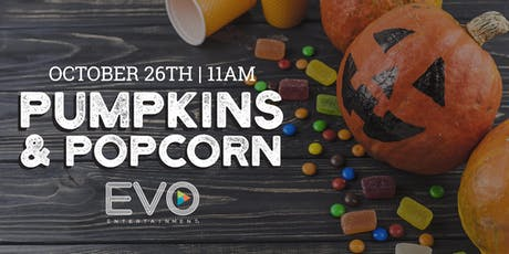 Pumpkins and Popcorn Party tickets