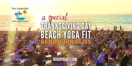 ThanksGiving Beach Yoga Fit on Fort Lauderdale Beach tickets
