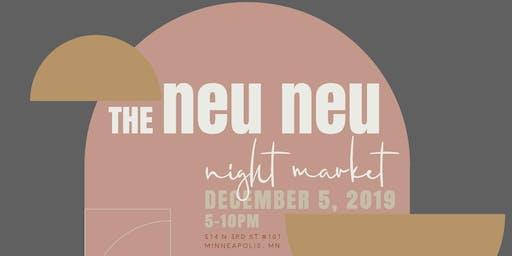 Neu Neu Night Market - Vendor Registration