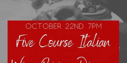 Fiamma's October Wine Dinner