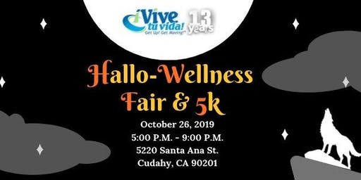 ¡Vive Tu Vida! Get Up! Get Moving! - FREE Halloween 5k & Healthfair