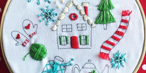 Winter Hygge Embroidery Workshop