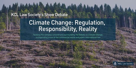 Show Debate: Climate Change: Regulation, Responsibility, Reality tickets