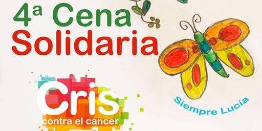 4ª Cena Solidaria Cris contra el Cáncer