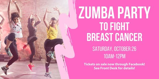 Albany Zumba Party To Fight Breast Cancer!