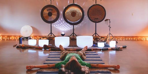 Sound Bath Sanctuary in New Westminster @ Dancing Cat Yoga