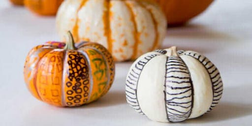 Adult DIY (Do-It-Yourself): Inktober Pumpkins