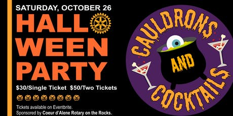 Cauldrons and Cocktails  Halloween Party tickets