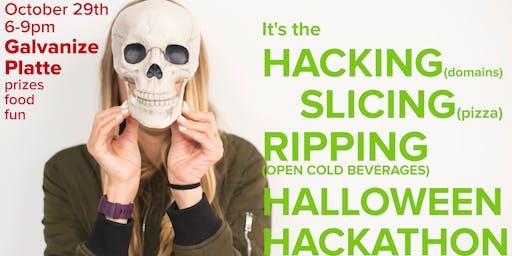 Halloween Hackathon at Galvanize Platte