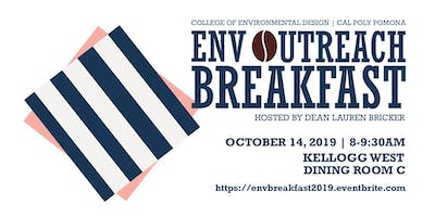 2019 ENV Dean's Outreach Breakfast
