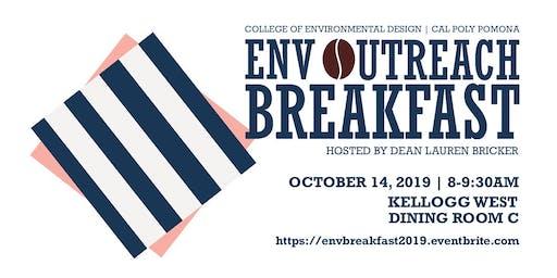 2019 ENV Dean's Outreach Breakfast