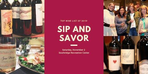 Sip and Savor 2019