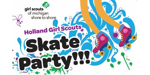 Girl Scouts of Holland Skate Party