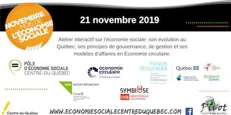 Économie sociale et Économie circulaire billets