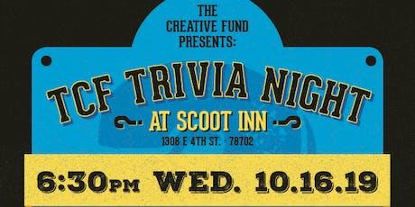The Creative Fund Trivia Night (10/16/19) tickets