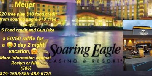 Casino hopping from Detroit to Soaring Eagles and Gun Lake Casino