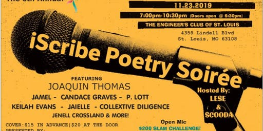 6th Annual iScribe Poetry Soirée