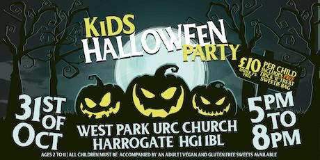 Kid Halloween Party - Evening - Thursday 31 October tickets