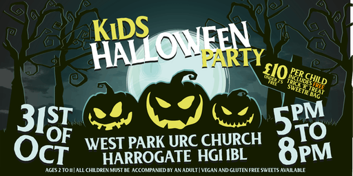Kid Halloween Party - Evening - Thursday 31 October