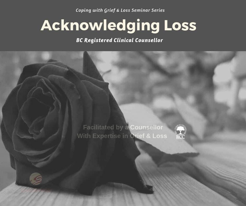 Coping With Grief & Loss: Acknowledging Loss