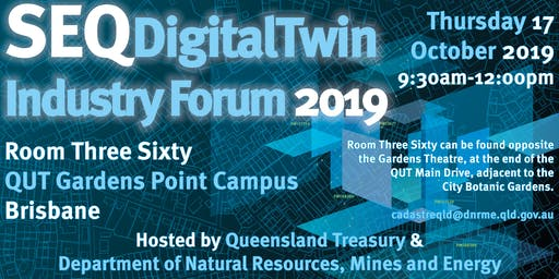 SEQ Digital Twin Industry Forum 2019