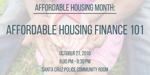 City of Santa Cruz: Affordable Housing Financing 101