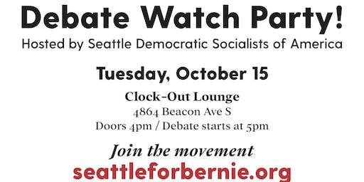 Democratic Debate Viewing Party