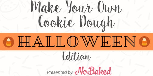 Make Your Own Cookie Dough - Halloween Edition