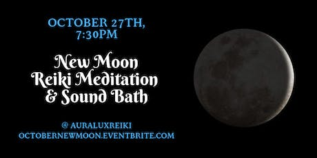 New Moon Reiki Meditation and Sound Bath Experience tickets