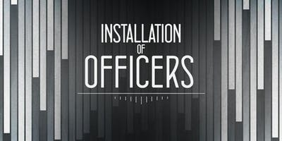 Installation of 2020 Line Officers