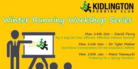 KRAC - Winter Running Workshop Series  tickets