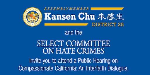 Compassionate California: An Interfaith Dialogue