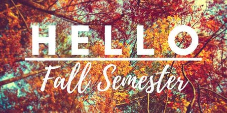 Fall New Venture Program Mentor Welcome tickets
