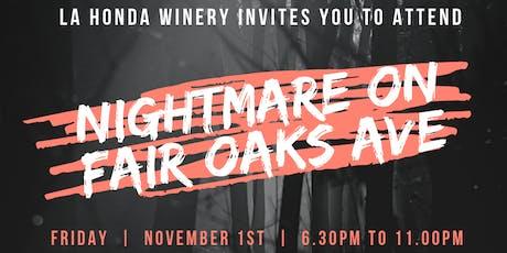 Nightmare on Fair Oaks Avenue tickets