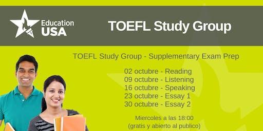 TOEFL Study Group Octubre