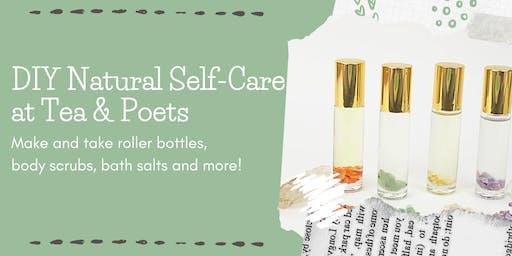 DIY Essential Selfcare at Tea & Poets