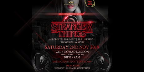 Xclusive Nights  Presents Stranger Things tickets