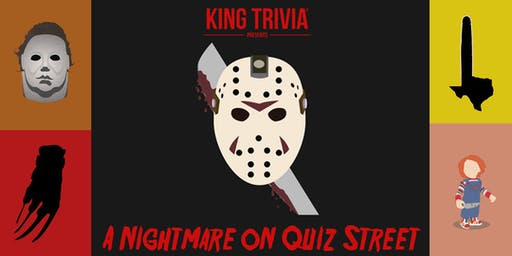 King Trivia Presents: A Slasher Films Themed Event