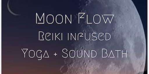 Moon Flow Yoga and Sound Bath