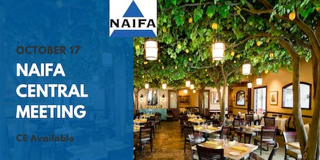 NAIFA Central October Meeting tickets