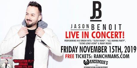 Jason Benoit - LIVE In Concert! tickets